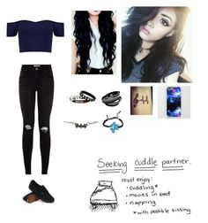 """""""New Anon~Emily"""" by nessa909 ❤ liked on Polyvore featuring Vans"""