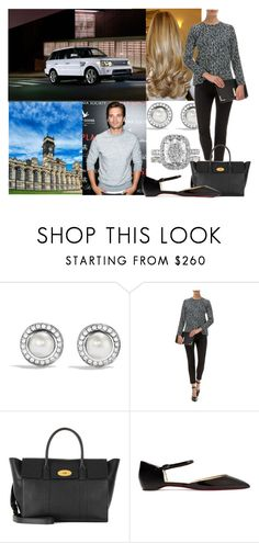 """""""Saying goodbye to her family and then leaving for Carlton Towers with Thomas"""" by alexandraofwales ❤ liked on Polyvore featuring David Yurman, Sebastian Professional, Mulberry and Christian Louboutin"""
