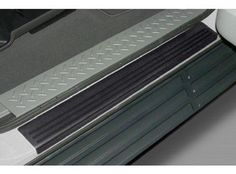 Oem Factory Stock Black 2010 10 2011 11 2012 12 F-150 Door Rocker Sill Scuff Protector Applique by Ford. $30.81. ?Rugged and durable applique for the sill area.  ?Helps prevent scratching  ?Provides a finished look  ?Low gloss black texture finish  ?Easy Installation.   ?For use on all models, 2-Pc. Set, front doors only. ?Made of a heavy gauge PVC material