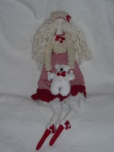 Tilda Doll made in Ukraine handmade doll toy home decor 22 inch by royalknitting on Etsy