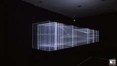 Nicolas Bernier - frequencies (light quanta) - Photo : Serena De Angelis - Officine K.
