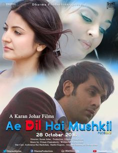 Karan Johar's Ae Dil Hai Mushkil Teaser All Set To Out on August 30