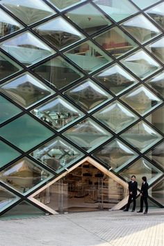 Prada Aoyama by Herzog & DeMeuron #modular #field