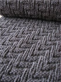 Knitting Obsession: Pattern that is Perfect of a Man's Scarf