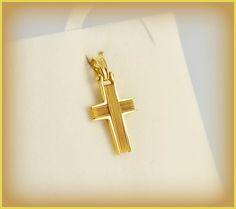 ΣΤ196Ν: Χρυσός συρματερός βαπτιστικός σταυρός με εκπληκτικό σχέδιο - ιδανικός για βάπτιση και σίγουρα ένα κόσμημα που θα αγαπηθεί και θα φορεθεί.