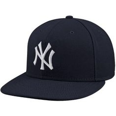 5af7b8273c2 New York Yankees New Era Youth AC On-Field 59FIFTY Fitted Hat - Navy