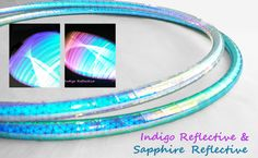 NEW! High Intensity Indigo and Pink Moon Reflective Double Minis // Twins//Performance Polypro Hula Hoop 3/4 or 5/8 NOT A LED Hula Hoop by PopLockandHoopIt on Etsy https://www.etsy.com/listing/226895425/new-high-intensity-indigo-and-pink-moon