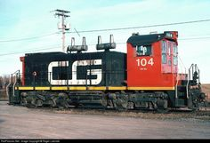 Owned by CN Rail, Canada and Gulf Terminal Railway operates 33.1miles of freight service between Mont-Joli and Matane,Quebec