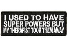funny Military Patches | funny patch for therapy seekers