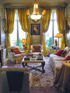 John Fowler  Parisian Drawing Room