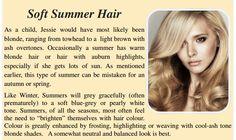 soft summer hair