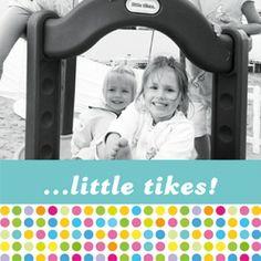 """Zu finden auf http://www.my-little-store.de/osqskn3png5td3bq:110  Wunderschönes Foto-Kunstwerk """"Sweet dots"""" von KLEIN & KöNIGLICH mit Wunschfoto und fröhlichem Muster in der Größe 60cm x 30cm."""