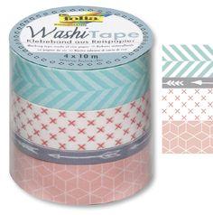 Masking Tape Klebeband Geometrisch, 4 Rollen finden Sie unter http://www.prell-versand.de/Basteltechniken/Basteltechniken-27/Karten---Stempel/Ziersticker---Aufkleber/Klebebaender-1341/Washi-Masking-Tape-Baender/Muster---Motive/masking-tape-klebeband-geometrisch-4-rollen-artikel-demnaechst-lieferbar.html