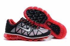 Nike Air Max 2011 Mens In Black White Red
