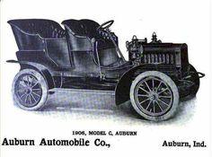 1906 Auburn Automobile Advertisement