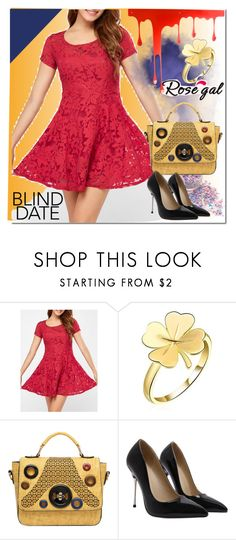 """""""Red and Mini"""" by bamra ❤ liked on Polyvore featuring Pulpo"""