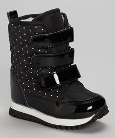 Another great find on #zulily! Black Triple Strap Boot by YOOPi #zulilyfinds
