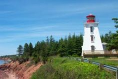 Cape Bear Lighthouse & Marconi Museum (Built in Site of first Canadian Marconi station to hear S. distress call from Titanic, Prince Edward Island, Jul 2000 Lighthouse Lighting, Prince Edward Island, Titanic, East Coast, Abandoned, Cape, Around The Worlds, Bear, Lighthouses