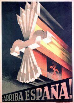 Spanish fascist poster - 1936