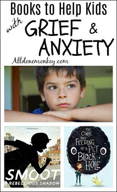 Reviews of a extremely creative picture book and a wildly funny yet poignant middle grade novel that deal with anxiety and grief.