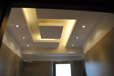 Easy And Cheap Cool Ideas: False Ceiling Bedroom Gray false ceiling design awesome.False Ceiling Bathroom Home false ceiling living room layout. Gypsum Ceiling Design, House Ceiling Design, Ceiling Design Living Room, False Ceiling Living Room, Bedroom False Ceiling Design, Ceiling Light Design, Home Ceiling, Modern Ceiling, Ceiling Decor