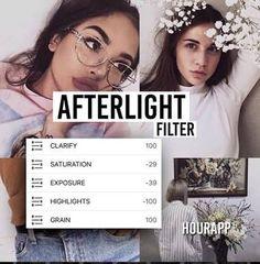 Resultado de imagem para filters afterlight