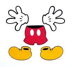 Resultado de imagen para mickey mouse shoes clipart