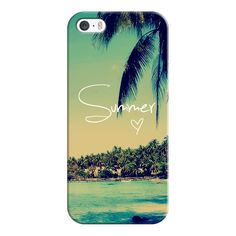 iPhone 6 Plus/6/5/5s/5c Case - Summer Love Vintage Beach (51 NZD) ❤ liked on Polyvore featuring accessories, tech accessories, phone cases, iphone case, technology, apple iphone cases, iphone cases, iphone cover case and vintage iphone case