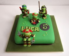 TMNT Cake For all your cake decorating supplies please visit
