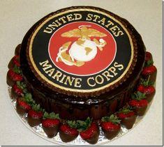 USMC cake... Preferably not chocolate