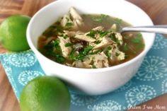 Kickin' Chicken Soup recipe- Lunch #freezercooking #glutenfree #dairyfree