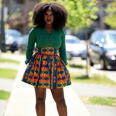 Tribal print skirt  Cute outfit