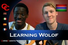 Sam teaches me some Wolof - a language from West Africa! It's different, that's for sure. I'd never spoken a word of this language before and only heard abou...