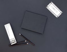 BLACK box / sketchbook idea and realization VOALA graphic design B.K.Spicakova