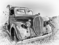 The Old Ford Truck Photo by Kathryn Dannay -- National Geographic Your Shot Car Drawings, Pencil Drawings, Vintage Cars, Antique Cars, Realistic Face Drawing, Car Tattoos, Still Life Drawing, Old Pickup, Draw On Photos