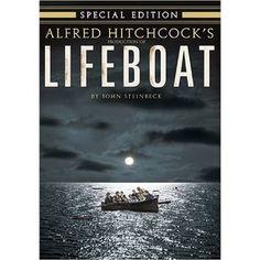 """Lifeboat"" starring Tallulah Bankhead, William Bendix, Walter Slezak (1944)"