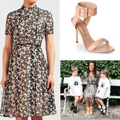 #pippamiddleton wore a @hugoboss dress (in a print similar to one one here on the left) and @aperlaiparis shoes to visit a school. She looks so happy! http://liketk.it/2rYEK #liketkit @liketoknow.it #lookforless #replipippas #fashionroyalty Get the look for less by clicking like & signing up @liketoknow.it  via ✨ @padgram ✨(http://dl.padgram.com)