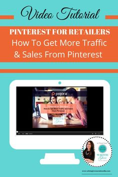 Pinterest For Business: How To Get More Traffic and Sales from Pinterest. CLICK HERE to watch the video tutorial http://www.whiteglovesocialmedia.com/pinterest-consultant-shares-pinterest-retailers-get-traffic-sales-pinterest/