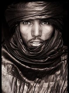 a Tuareg man, photo by John Kenny