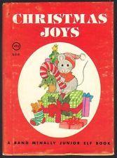 CHRISTMAS JOYS ~ Children's Holiday Rand McNally Junior Elf Book