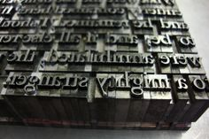 letterpress printing | Pages