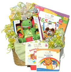 baby gift baskets | Baby Gift Baskets, Book Baskets, Baby Einstein Baby Baskets more gifts to put in a huge gift basket or a huge stocking