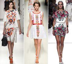 Spring/ Summer 2014 Print Trends - Floral Prints  #trends #fashion