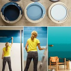 ombre living room wall art ideas emphasize instructions