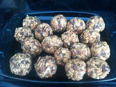 HER LATE NIGHT CRAVINGS: Easy Snack Recipe: No Bake Energy Balls