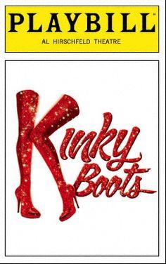 See Kinky Boots!  Check!! November 2015!✔️