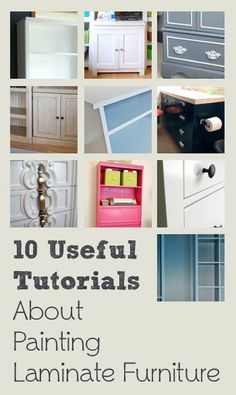 10 Useful Tutorials About Painting Laminate Furniture � By Top Bloggers