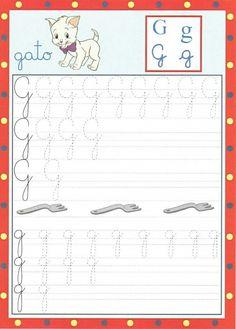 Alfabeto cursivo pontilhado