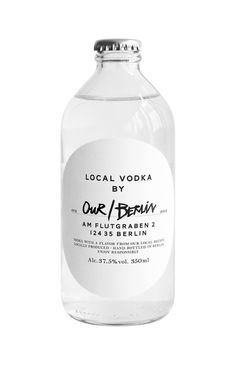 Local Vodka Our/Berlin in /Packaging
