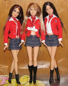 Celebrity Barbie Doll Rebelde Roberta Pardo Dulce RBD Mexican Soap Opera Mattel 12.99+3